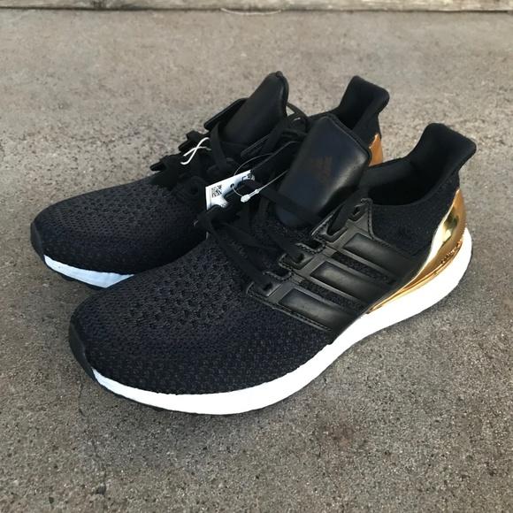 b64c00f3b90 Adidas UltraBOOST LTD Gold Medal Sneaker sz 10